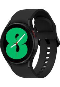 SAMSUNG - Smartwatch Samsung Galaxy Watch 4 Aluminum 44mm Czarny (SM-R870NZKAEUE). Rodzaj zegarka: smartwatch. Kolor: czarny
