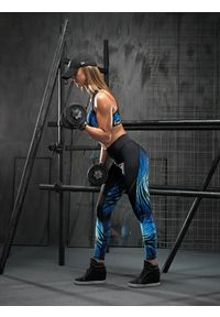 Legginsy sportowe FJ! w kolorowe wzory, do tańczenia