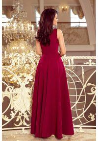 Sukienka wieczorowa Numoco rozkloszowana, maxi, na studniówkę