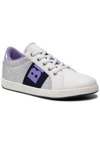 Srebrne sneakersy Blauer