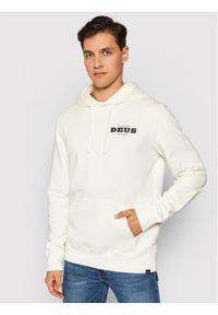 Deus Ex Machina Bluza Loco Hoodie DMP2081369B-VWH-L Biały Regular Fit. Kolor: biały