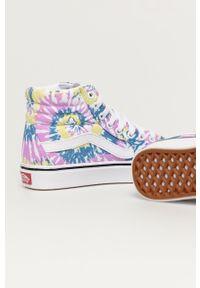 Vans - Trampki. Nosek buta: okrągły. Zapięcie: sznurówki. Kolor: fioletowy. Materiał: guma