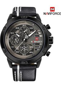 Biały zegarek Naviforce