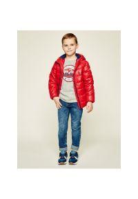Czerwona kurtka puchowa Pepe Jeans