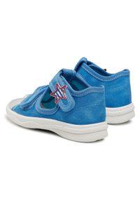 Superdry - Superfit Sandały 1-000293-8000 M Niebieski. Kolor: niebieski