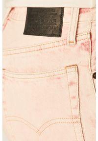 Levi's Made & Crafted - Jeansy 501. Kolor: różowy