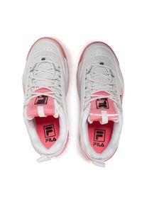 Czerwone sneakersy Fila