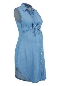 """Sukienka ciążowa i do karmienia, przyjazna dla środowiska, TENCEL™, lyocell bonprix niebieski """"bleached"""". Kolekcja: moda ciążowa. Kolor: niebieski. Materiał: lyocell"""