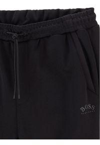 BOSS - Boss Spodnie dresowe Hadiko 50441275 Czarny Regular Fit. Kolor: czarny. Materiał: dresówka