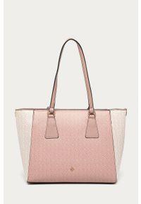 Różowa shopperka Call It Spring duża, na ramię #6