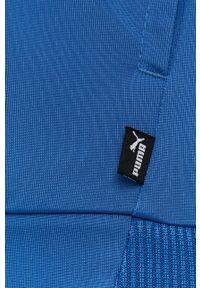Niebieski komplet dresowy Puma z nadrukiem