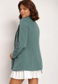 Renee - Zielona Marynarka Cileia. Kolor: zielony. Styl: glamour, klasyczny #4