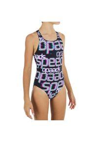 Speedo - Strój Jednoczęściowy Pływacki Medalist Dla Dzieci. Materiał: materiał, poliester