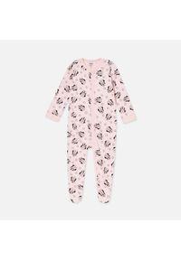Różowa piżama Sinsay z motywem z bajki