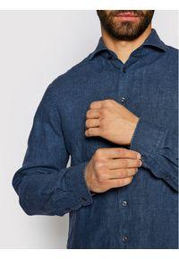 Baldessarini Koszula Henry B3 10000/000/3030 Granatowy Tailored Fit. Kolor: niebieski #6
