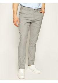 Baldessarini Spodnie materiałowe Jorck 16836/000/2297 Szary Slim Fit. Kolor: szary. Materiał: materiał, bawełna, elastan