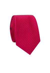 Czerwony krawat Giacomo Conti