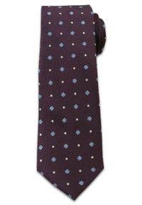 Wielokolorowy krawat Chattier casualowy, na co dzień, w kropki