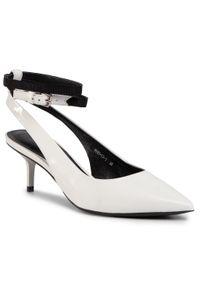 Białe sandały Gino Rossi klasyczne