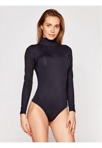 Spanx - SPANX Body Suit Yourself Long Sleeve Turtleneck Thong 20306R Czarny Slim Fit. Kolor: czarny. Długość rękawa: długi rękaw