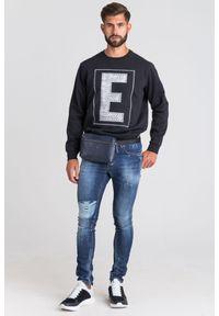Bluza Emporio Armani klasyczna, z kapturem
