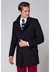 Czarna kurtka Lancerto na zimę, elegancka