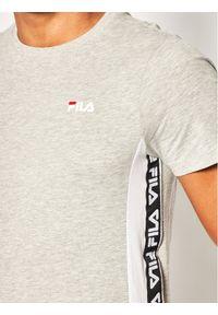 Fila T-Shirt Tobal Tee 687709 Szary Regular Fit. Kolor: szary