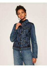 Niebieska kurtka jeansowa Desigual