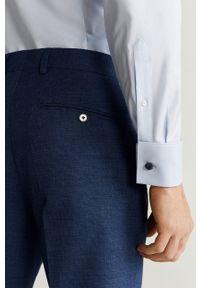 Turkusowe spodnie Mango Man #6