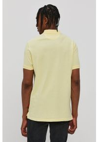 John Frank - Polo. Okazja: na co dzień. Typ kołnierza: polo. Kolor: żółty. Długość: krótkie. Styl: casual