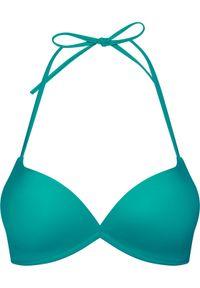 Zielone góra bikini TOMMY HILFIGER