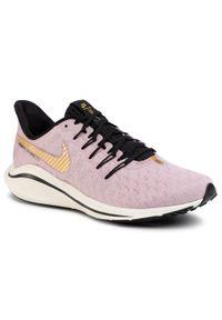 Różowe buty do biegania Nike z cholewką