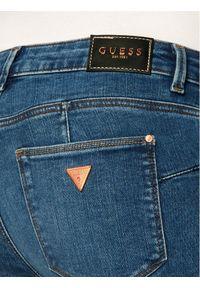 Guess Jeansy Skinny Fit Curve W0YAJ2 D4484 Granatowy Skinny Fit. Kolor: niebieski. Materiał: jeans