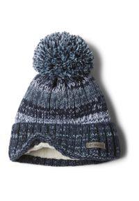 Niebieska czapka columbia na zimę