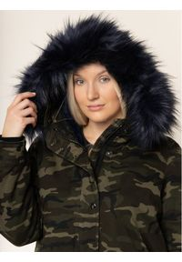 Zielona kurtka zimowa Persona by Marina Rinaldi