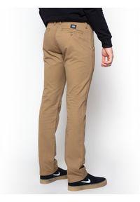Brązowe spodnie Vans