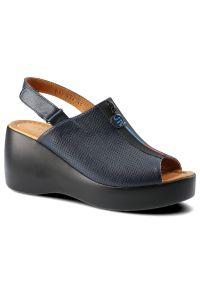 Niebieskie sandały Lanqier