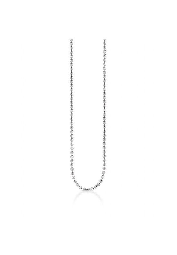 W.KRUK Unikalny Srebrny Łańcuszek - srebro 925 - WWK/LS006. Materiał: srebrne. Kolor: srebrny. Wzór: ze splotem, aplikacja