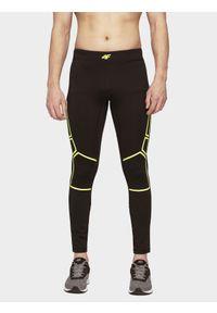 Czarne legginsy sportowe 4f do biegania