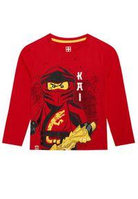 LEGO Wear Bluzka 12010028 Czerwony Regular Fit. Kolor: czerwony