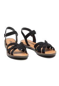 Refresh - Sandały REFRESH - 72750 Black. Kolor: czarny. Materiał: materiał #5