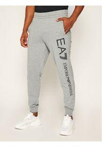 Szare spodnie dresowe EA7 Emporio Armani