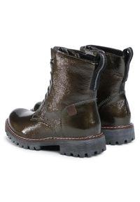 Zielone buty trekkingowe Josef Seibel