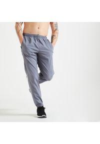 DOMYOS - Spodnie fitness Domyos 120. Materiał: materiał, poliester. Sport: fitness
