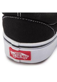 Czarne buty sportowe Vans z cholewką, bez zapięcia