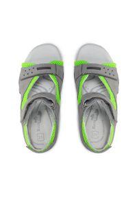 RenBut - Sandały RENBUT - 31-4425 Popiel Zielony. Kolor: szary. Materiał: skóra, zamsz