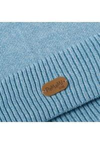 Wiosenna czapka dzicięca PaMaMi - Jasnoniebieski. Kolor: niebieski. Materiał: bawełna, elastan. Sezon: wiosna