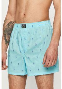 Niebieskie majtki Polo Ralph Lauren gładkie