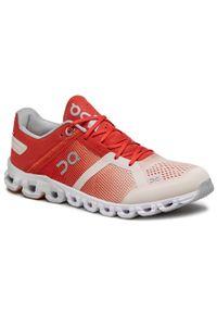 On - Buty ON - Cloudflow 25.99587 Rust/Rose. Kolor: czerwony. Materiał: materiał. Szerokość cholewki: normalna. Sport: fitness