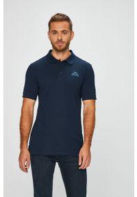 Niebieska koszulka polo Kappa polo, krótka